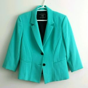 Le Chateau Medium Teal Spring Blazer